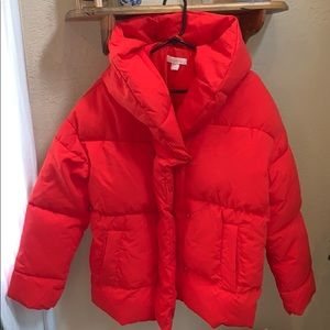 H & M Red puffy jacket